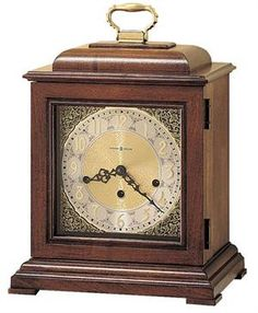 Howard Miller Samuel Watson Key-Wind Triple Chime Mantel Clock
