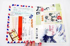 Tokyo Journal by Jenna Templeton #journaling #crafts