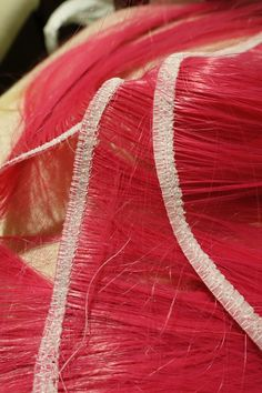 Tutorial: Making Wig Wefts