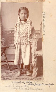 Standing Holy (the daughter of Sitting Bull) - Hunkpapa - no date