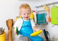 Toddler-appropriate chores build confidence