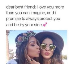 To my best friend 💕 Dear Best Friend, Best Friend Goals, Friend Challenges, Bestest Friend, Friend Memes, Best Friend Quotes, Crazy Friends, True Friends, Besties Quotes