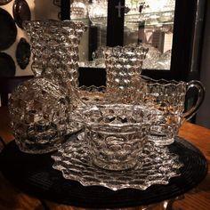 Fostoria Glassware, Crown, Jewelry, Fashion, Moda, Corona, Jewlery, Jewerly, Fashion Styles