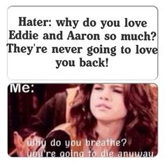 This has made my day. <3 But seriously Aaron loves me... see he told me so...    http://media.tumblr.com/tumblr_m3vsh6pms31rpqhjl.gif