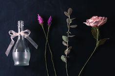 Flor de Papel - Paper flower - www.annitaloja.com.br