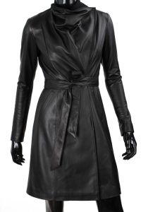 Płaszcz skórzany damski DORJAN EST450