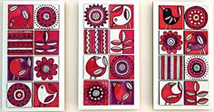 Jocelyn Proust Designs, pattern design, hand painted tiles | wall tiles