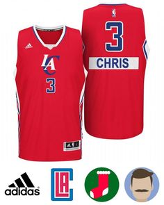 96d09726087 Buy Chris Paul Los Angeles Clippers 2014 Christmas Day Big Logo Swingman  Red Jersey from Reliable Chris Paul Los Angeles Clippers 2014 Christmas Day  Big ...