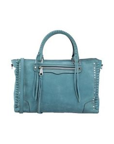 REBECCA MINKOFF Handbag. #rebeccaminkoff #bags #shoulder bags #hand bags Rebecca Minkoff Handbags, Shoulder Strap, Shoulder Bags, World Of Fashion, Luxury Branding, Soft Leather, Jade, Studs, Zip