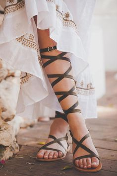 Gladiator lace up leather sandals, wedding sandals for women, strappy flat greek sandals Lace Up Gladiator Sandals, Roman Sandals, Greek Sandals, Ankle Strap Heels, Leather Sandals, Boho Sandals, Strappy Sandals Heels, Flat Sandals, Vert Olive