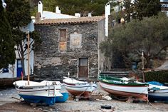 size: Photographic Print: Port Lligat, Catalonia Poster by Mark Mawson : Cadaques Spain, Construction, Culture Travel, Around The Worlds, Europe, Patio, Stock Photos, City, Places