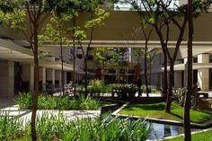 Paisagismo da Praça - Brascan Century Plaza | São Paulo, SP, Brasil I Escritório Konigsberger Vannucchi e Paisagismo: Benedito Abbud, 2000-2003