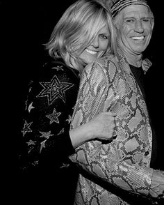 Patti Hansen & Keith Richards at the Fonda Theatre afterparty Keith Richards, The Rolling Stones, Mick Jagger, Shoulder Bob, Fonda Theater, Patti Hansen, Ron Woods, Ronnie Wood, Stone World