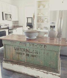 The Farmhouse 31, 20 Farmhouse Kitchens via A Blissful Nest