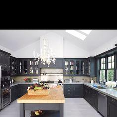 Cool kitchen.