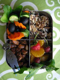 "OrganizedBites.com | ""Strawberry Harvest"""