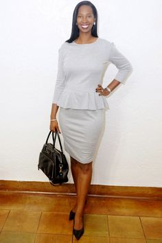 DIY Peplum - fashion for tall women
