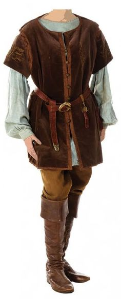 Peter Pevensie's Cair Paravel outfit from The Chronicles of Narnia; Prince Caspian.
