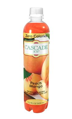 Zero-calorie Peach Mango Sparkling Water