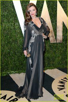Miranda Kerr.    Vanity Fair Oscars Party