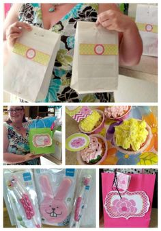Mother's Day party with free printables and MAM Baby swag bags!