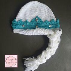 Elsa Frozen Crochet Beanie / Hat