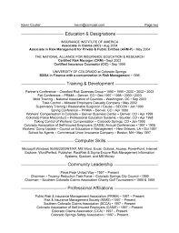 entry level resume career