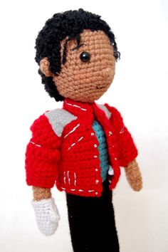 Michael Jackson Amigurumi Crochet Pattern by craftyiscoolcrochet, $6.00