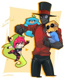 As much as I ship Paperhat....this is too cute and I find this as a very head canon kind of thing