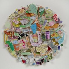 Chris Kenny map collages