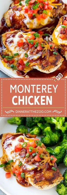 Monterey Chicken Recipe | Chili's Copycat Monterey Chicken | Barbecue Chicken Recipe | Easy Chicken Recipe
