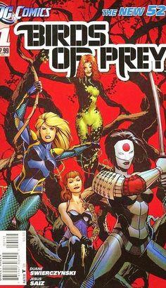 DC comics BIRDS of PREY 0, 1 - 34 new batman 52 FULL RUN complete series lot