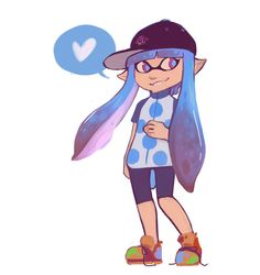 I've been playing so much splatoon lately its so fun! I think Im going to work on an oc for it soon but for now heres my in game girl's current outfit! Sup Squiddo Stay Fresh, Princess Peach, Fan Art, Deviantart, Fun, Fictional Characters, Fantasy Characters, Hilarious