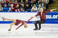 Mari Vartmann & Aaron van Cleave (GER) - 2014 Skate Canada LP © Danielle Earl