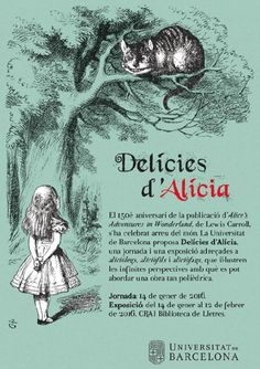 Delícies d'Alícia. Jornada i exposició. 14 de gener 2015 a la UB