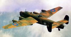 El Handley Page Halifax fue un bombardero pesado cuatrimotor británico.