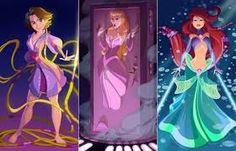 princesas da disney modernas - Pesquisa Google