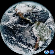 The first images from the new weather satellite just arrived, and they're absolutely incredible