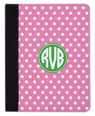 Bubblegum Polka Dot iPad Cover