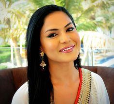 Veena Malik wedding makeup