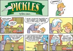 Pickles Comic Strip, May 17, 2015 on GoComics.com