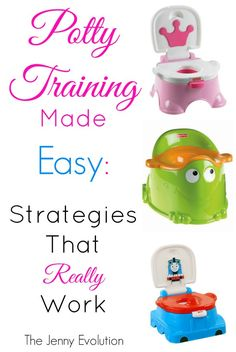 Potty training made easy: Strategies that really work. #pottytraining