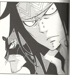 Fairy Tail - Gajeel and Panther Lily When someone hurts Levy Gajevy, Gruvia, Fairytail, Fairy Tail Characters, Anime Characters, Gajeel Et Levy, Fairy Tail Dragon Slayer, Fairy Tail Levy, Manga