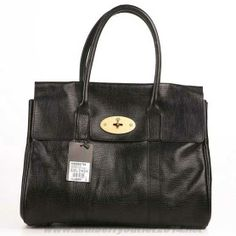 Authentic Womens Mulberry Bayswater Shoulder Bag Black On Cyber Monday