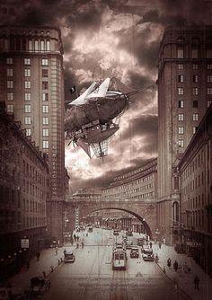 Airship #steampunk