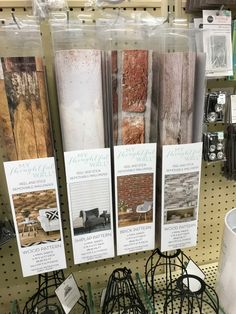 Peel and stick wallpaper at Hobby Lobby wallpaper in