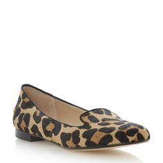 DUNE LADIES LIMBO - Slip On Slipper Shoe - leopard   Dune Shoes Online