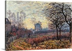 View Le Couple Environs de Louveciennes by Alfred Sisley on artnet. Browse more artworks Alfred Sisley from Richard Nathanson Impressionist Century Art. Impressionist Landscape, Post Impressionism, Impressionist Paintings, Landscape Paintings, Pierre Auguste Renoir, Manet, Wall Art Prints, Poster Prints, Canvas Prints