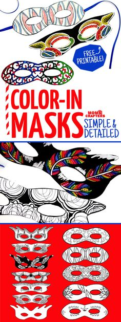 do you love adult coloring pages but want something functional grab these color in masks