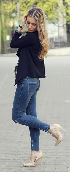 296082aaf8d 4925 Best JACKET WITH JEANS images in 2019